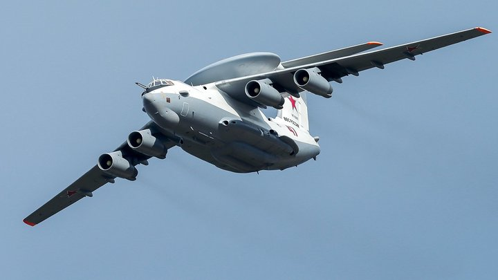 Первый полет российского летающего радара А-100 прошел успешно