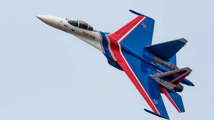 Поджали хвосты: Русский Су-30 напугал американских шпионов у границы РФ