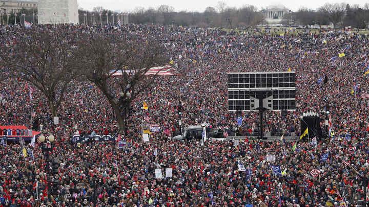 Лавров, приди! Печеньки принеси! Американцы прорываются в Капитолий. Русские наблюдают онлайн