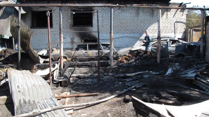 В Сызрани после пожара обнаружено два трупа: начата проверка