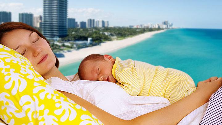 Родить гражданина США: В Майами фиксируют русский беби-бум