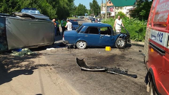 В полиции уточнили подробности ДТП в Александрове