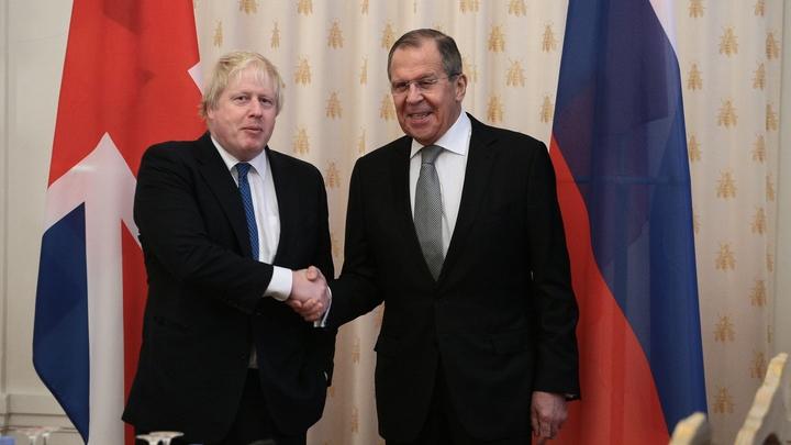 The Guardian: На встрече с Лавровым в Москве Джонсон оказался в безвыходной ситуации
