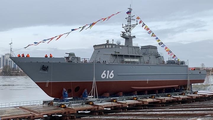 Тральщик Яков Баляев отправился на базу: новейший корабль готов для передачи ВМФ