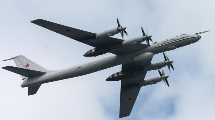 Датские пилоты не смогли правильно опознать перехваченный ими Ту-142 России
