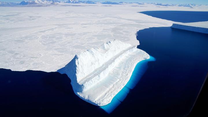 NASA потеряло 14 млрд тонн льда в Антарктике