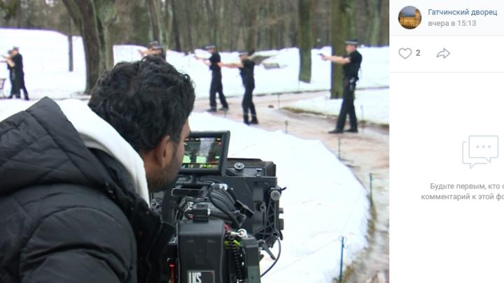 В Ленобласть приехал Болливуд: в Гатчине проходят съемки индийского боевика