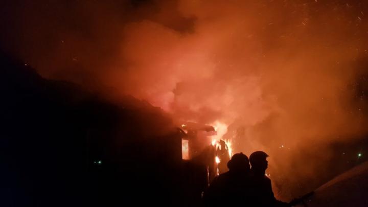 За один вечер пожары под Кингисеппом унесли жизни двоих людей
