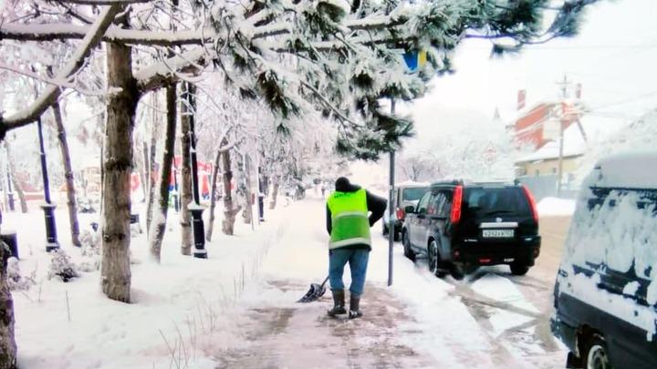 На покупку снегоуборочной техники Краснодар выделит 68,5 млн рублей