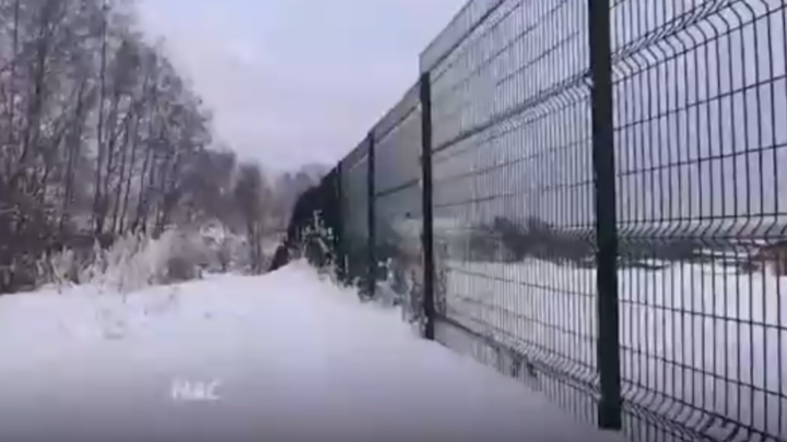 Ни леса, ни города: заборы «Охта Парка» оставили жителей Мистолово без свежего воздуха