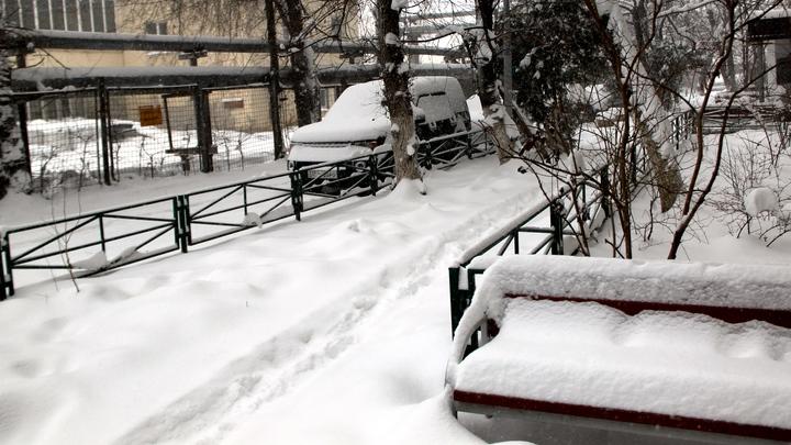 Закрытый аэропорт, отключения света и каша на дорогах: снегопад сковал Краснодар