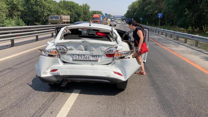 Годовалый ребенок пострадал в ДТП с грузовиком на трассе М-4 Дон