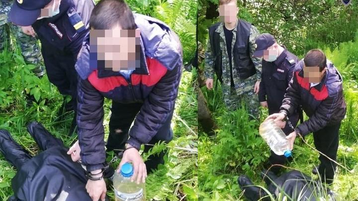 Два жителя Борского района похитили мужчину и пытались его заживо сжечь