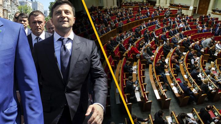 Рада против Зеленского: Депутаты не хотят перевыборов раньше времени