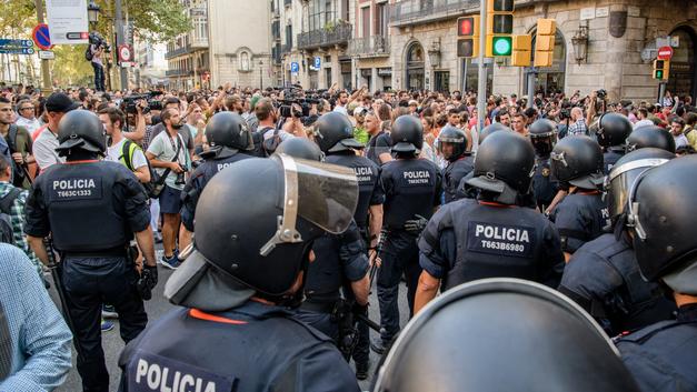 В Марокко задержали причастных к терактам в Каталонии