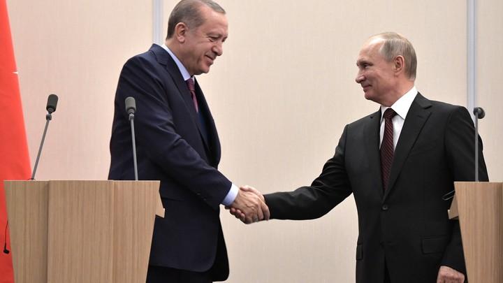 Пока его войска захватывают Сирию, Эрдоган готовится к шестой встрече с Путиным