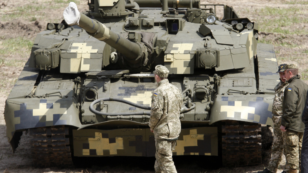 Слепила изтого, что было: Украинские танки «Оплот» комплектуют частями остальных машин