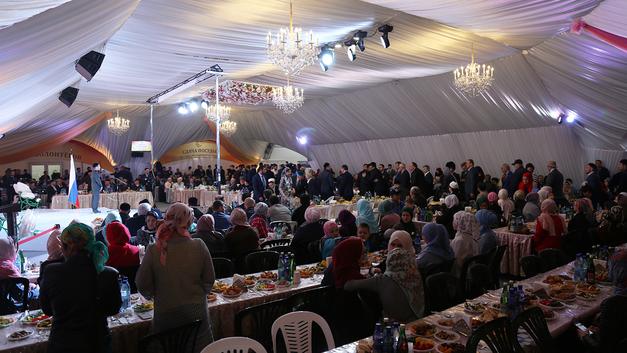 Шатёр Рамадана: Ифтар по-ингушски