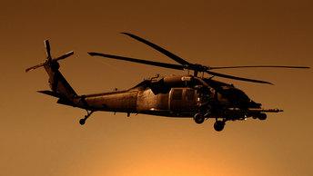 Американский ястреб полёты завершил: Семь погибших