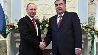 Песков: Президент Таджикистана приехал в Россию, несмотря на личную трагедию в семье