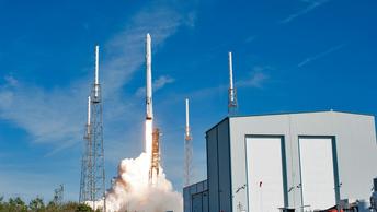 SpaceX перед делегатами из Люксембурга запустила Falcon 9
