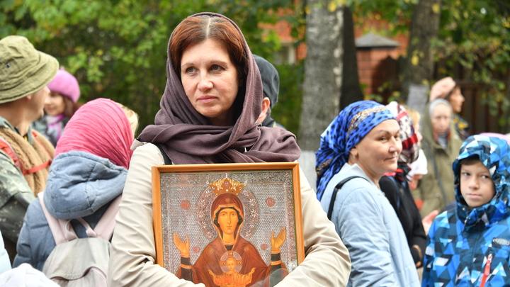 В Пасху в Екатеринбурге пройдет крестный ход на Ганину Яму