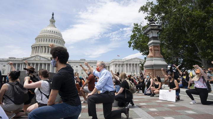 Русский план провален. Протесты в США обретут второе дыхание - NBC News