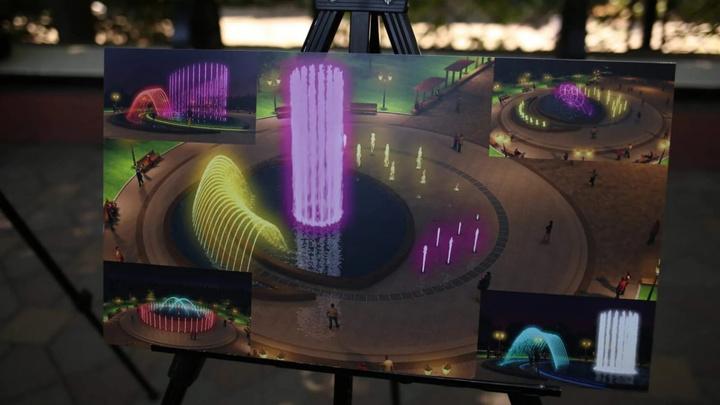 Ростовчанам предложили три варианта нового светомузыкального фонтана на Аллее роз