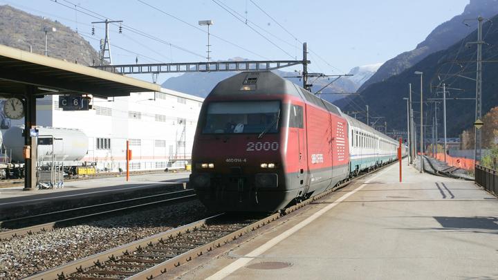 В Приморье столкнулись два поезда