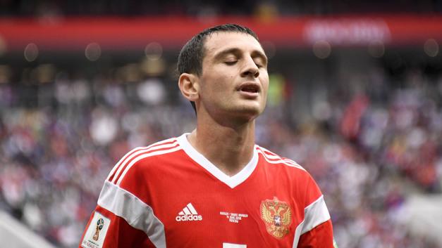 Какая боль: Россия - Уругвай пока 2:0