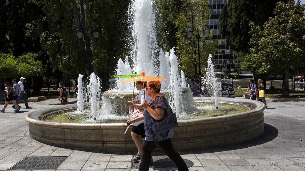 Жара в Греции достигла аномальных значений