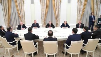 Надежные руки для великой страны: Лидеры СНГ выбрали Путина президентом России после марта 2018 года