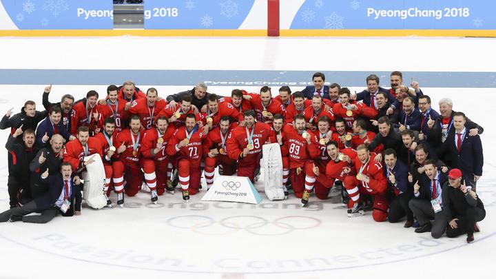 Реакция в социальных сетях на победу русских хоккеистов