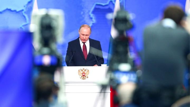 Путин презентовал новую гиперзвуковую ракету. Чтобы никто не мог помыслить об агрессии против России