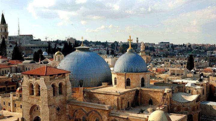 Иерусалим как поцелуй смерти