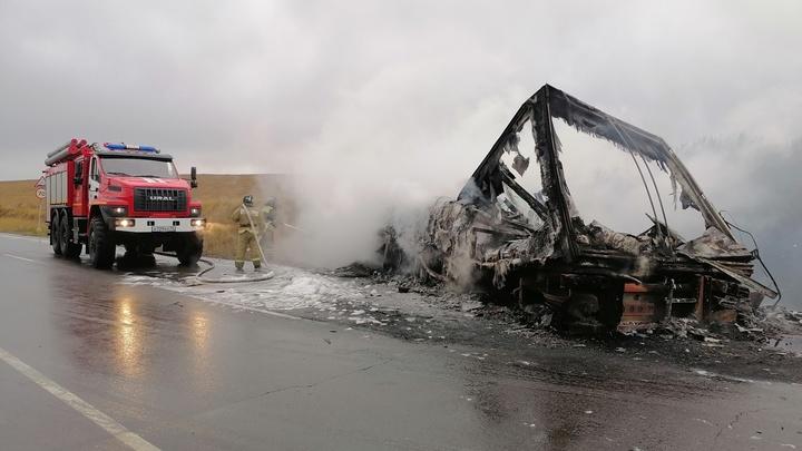 Пожарные из Краснокаменска не успели во время прибыть на экстренный вызов