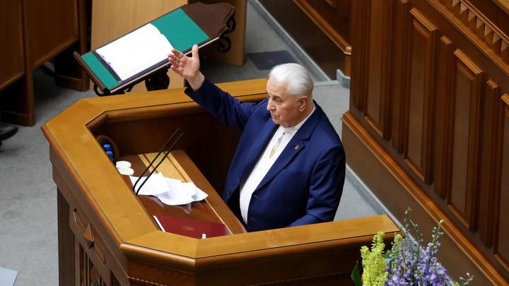 Кравчук намекнул на отказ от Донбасса: Я только год назад узнал