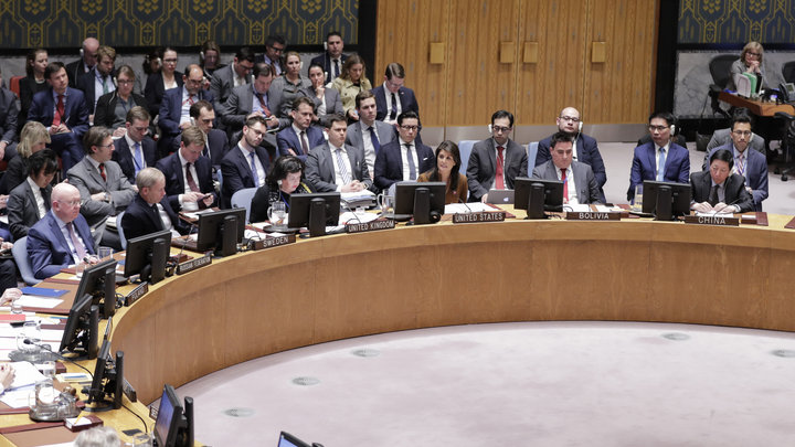 Совбез ООН по призыву Боливии обсуждает военные угрозы со стороны США
