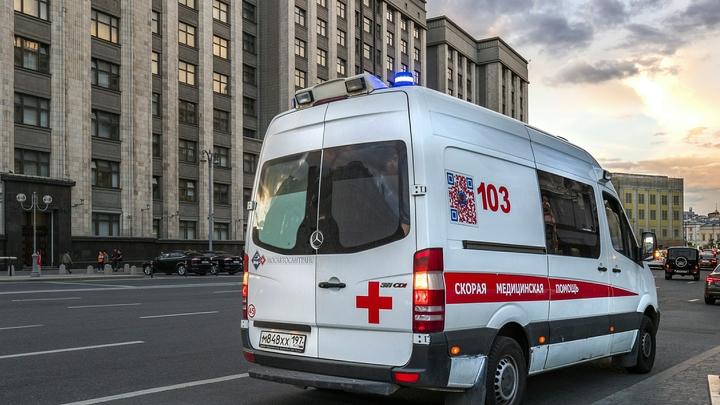 Трамвайное ДТП в Москве спровоцировало пробку