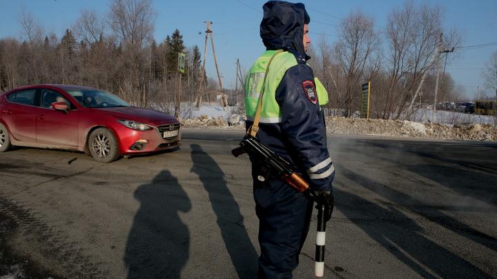 Сотрудник ППС спас новосибирца из горящего автомобиля