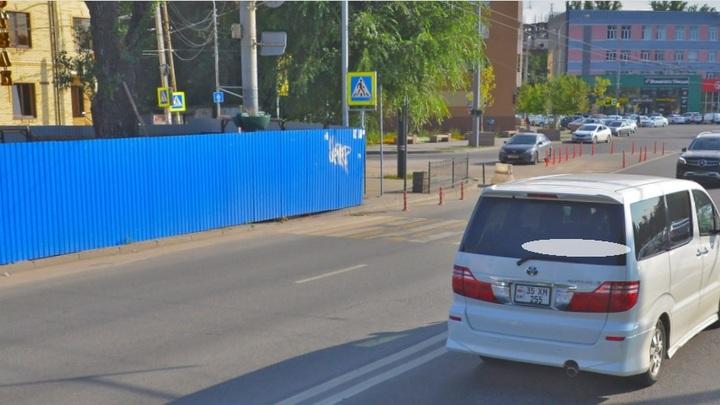 В Ростове-на-Дону заморозили строительство подземного перехода на пр. Шолохова