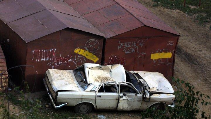 В двух микрорайонах Самары вновь сносят гаражи