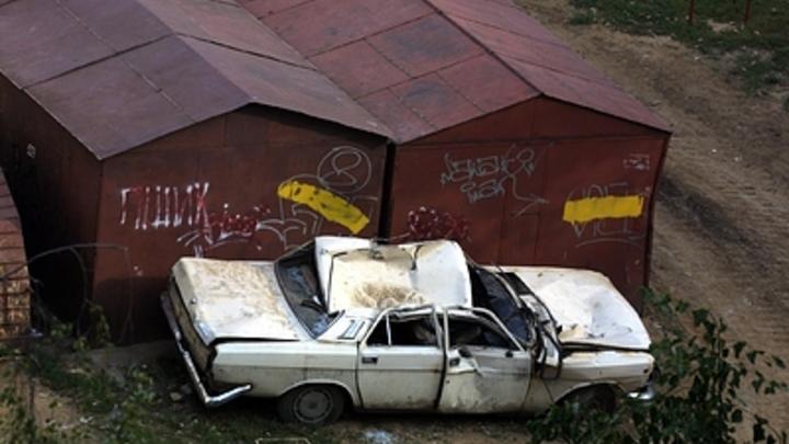 В Чите под предлогом берегоукрепительных работ массово сносят частные гаражи