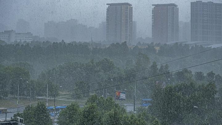 2 сентября в Ростове ожидаются сильные ливни с грозами