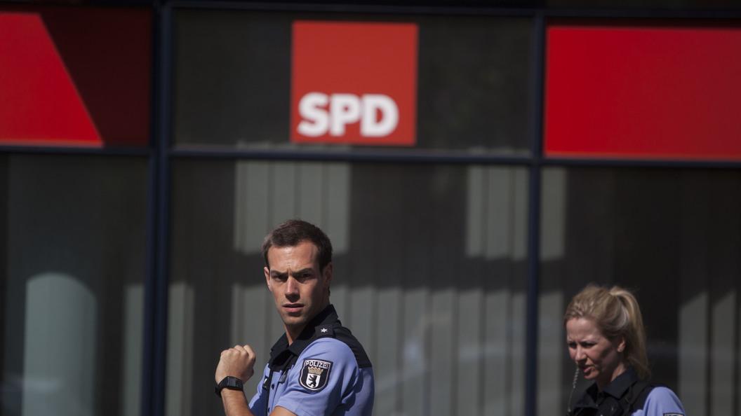 В Германии для борьбы с антиглобалистами применили водометы и радары