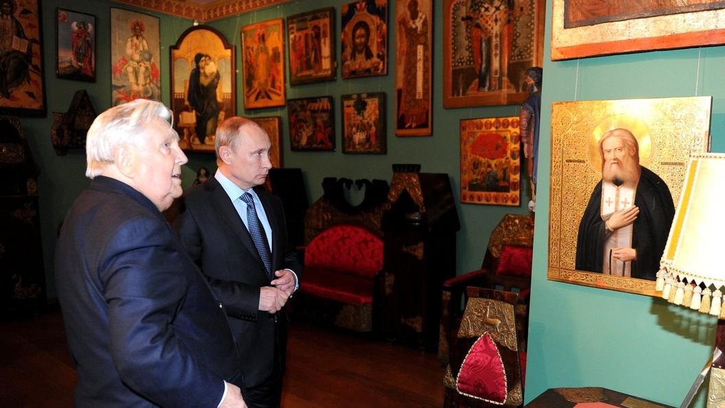 Галерея Ильи Глазунова будет работать бесплатно вдень его похорон