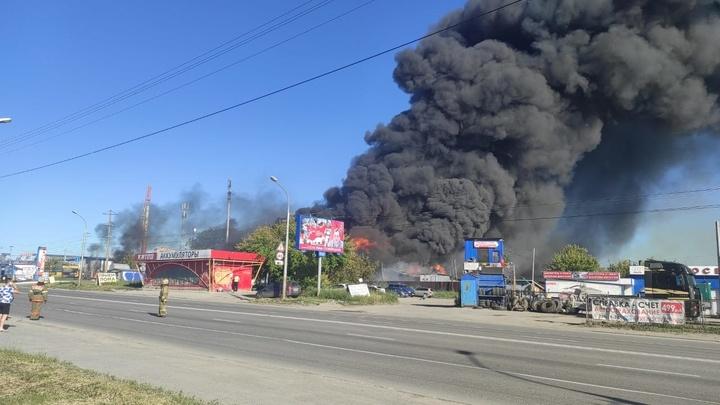 В Ростехнадзоре назвали нарушения, выявленные на сгоревшей заправке в Новосибирске