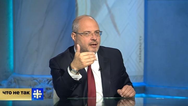 Можем работать хоть на табуретках: Депутат Гаврилов объяснил, почему сел в кресло спикера парламента Грузии