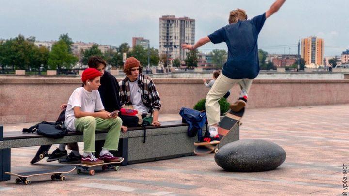 В Челябинске скейтеры крушат новую набережную