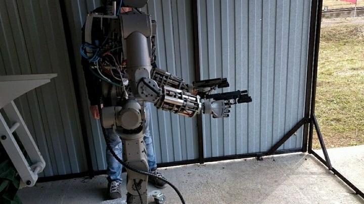 В Германии испугались русского робота-убийцу и потребовали запретить вооружение